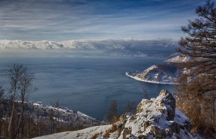 Cherskiy Peak view of Baikal
