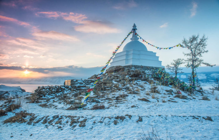 Ogoy island shaman stupa