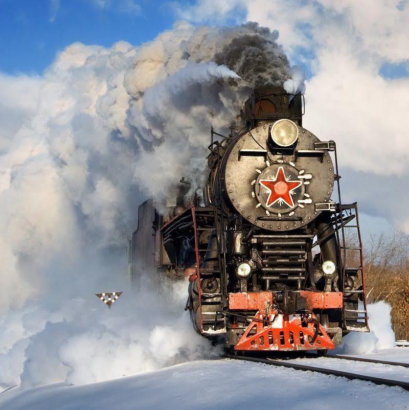 Circum baikal railway tour Train