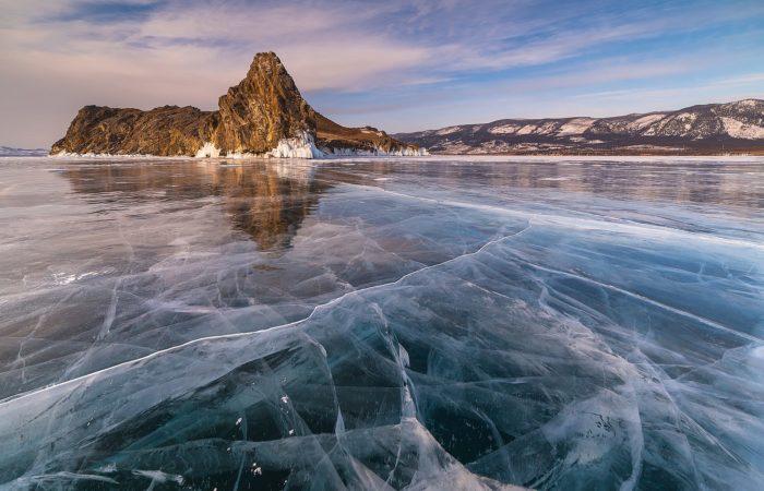 Oltrek Island Baikal Small sea