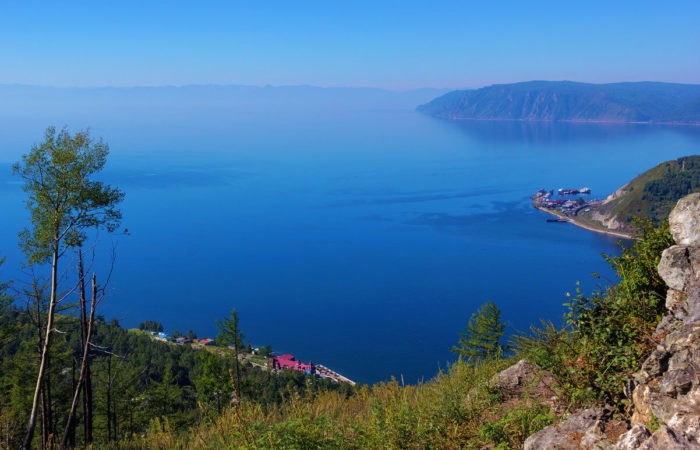 View of Baikal from Cherskiy Stone