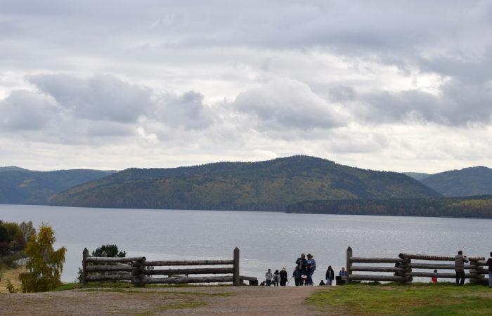 Listvyanka Talci lake Baikal view