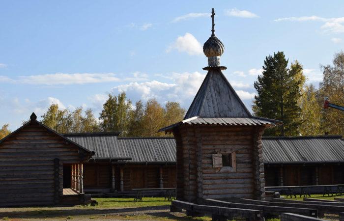 Listvyanka Talci Wooden Church