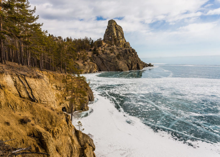 Nature of Baikal Two Belfries
