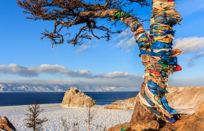 place of power baikal olkhon shaman tree