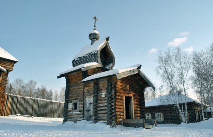 Talci winter church